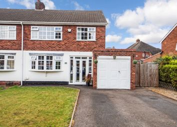 Thumbnail 3 bed semi-detached house for sale in Stirling Road, Boldmere, Sutton Coldfield