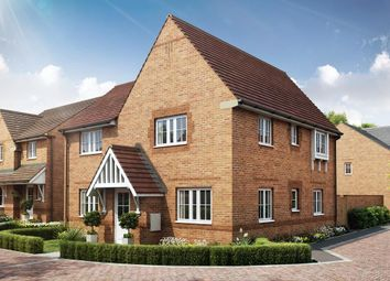 """Thumbnail 4 bedroom detached house for sale in """"Lincoln"""" at Robell Way, Storrington, Pulborough"""