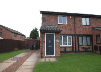 Thumbnail 2 bedroom semi-detached house for sale in Edgemount, Killingworth, Newcastle Upon Tyne