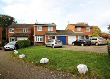 Thumbnail 3 bed detached house for sale in Larksfield, Egham