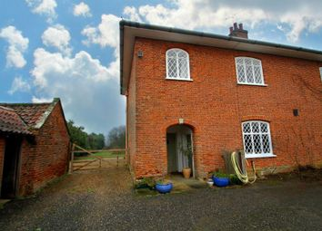 Thumbnail 3 bedroom semi-detached house to rent in Marlesford, Woodbridge