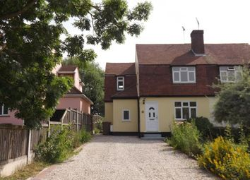 Thumbnail 3 bed semi-detached house for sale in Howe Green, Chelmsford, Essex