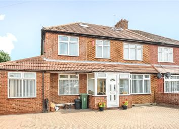 Thumbnail 5 bed semi-detached house for sale in Carlyon Road, North Hayes, Middlesex