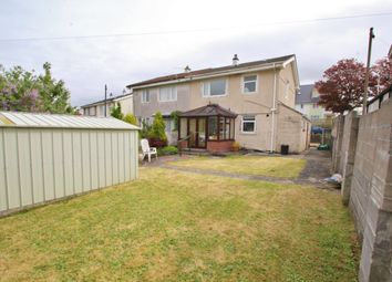Thumbnail 3 bed semi-detached house for sale in Jedburgh Crescent, Plymouth