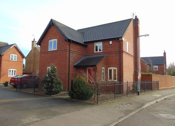 Thumbnail 3 bed detached house for sale in Gapstile Close, Desborough