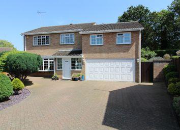 Thumbnail 5 bed detached house for sale in Royle Close, Orton Longueville, Peterborough