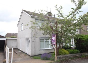 Thumbnail Semi-detached house for sale in Thornhill Close, Upper Cwmbran, Cwmbran