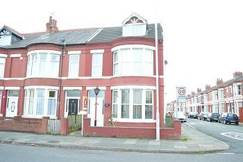 Thumbnail 4 bed end terrace house to rent in 53 Liscard Road, Wallasey, Wirral