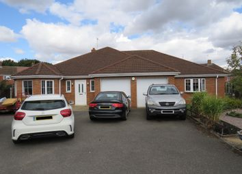 Thumbnail 4 bed detached bungalow for sale in Queens Close, Donington, Spalding