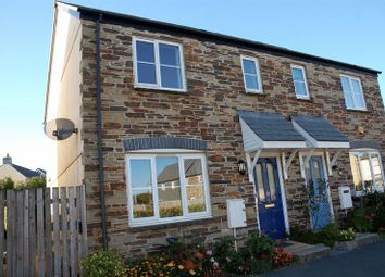 Thumbnail 3 bed semi-detached house to rent in Treclago View, Camelford
