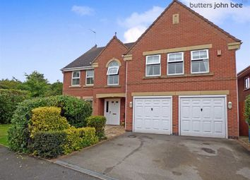 Thumbnail 5 bedroom detached house for sale in Spode Close, Stone, Staffordshire