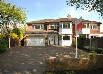 Thumbnail 5 bed semi-detached house for sale in The Drive, Adel, Leeds, West Yorkshire