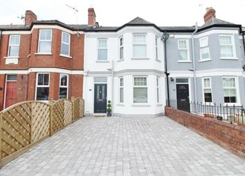 Thumbnail 3 bed terraced house for sale in Upton Road, Newport
