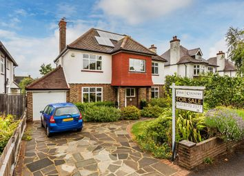 Thumbnail 4 bed detached house for sale in Glebe Road, South Cheam, Sutton