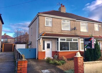 Thumbnail 3 bed semi-detached house for sale in Rossall Road, Lancaster, Lancashire