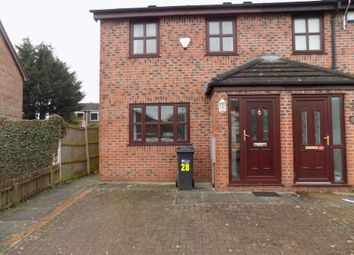Thumbnail 2 bed end terrace house to rent in Hilltop Close, Ewloe