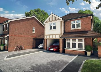 Thumbnail 4 bed detached house for sale in Bath Road, Padworth, Reading