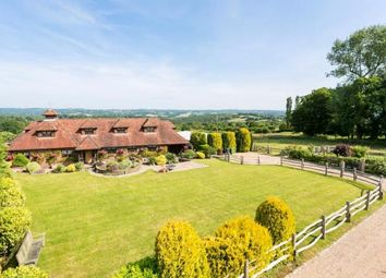 Thumbnail 4 bed equestrian property for sale in Street End Lane, Broad Oak, Heathfield, East Sussex
