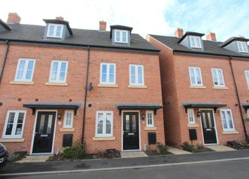 Thumbnail 3 bed town house to rent in Coleridge Way, Oakham