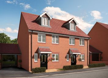 "Thumbnail 3 bed semi-detached house for sale in ""The Kentwood"" at Bartons Road, Havant"