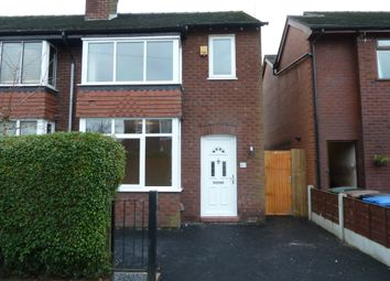 Thumbnail 3 bed semi-detached house to rent in Claremont Road, Great Moor, Stockport, Cheshire
