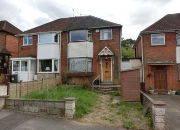 Thumbnail 3 bed semi-detached house for sale in Wiseacre Croft, Shirley, Solihull