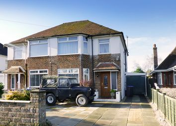 Thumbnail 3 bed semi-detached house for sale in Rectory Gardens, Broadwater, Worthing