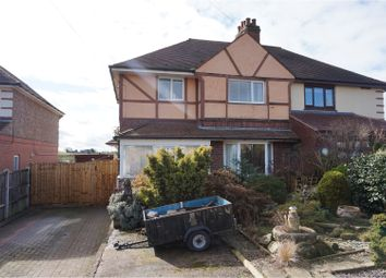 Thumbnail 3 bed semi-detached house for sale in Stockings Lane, Rugeley