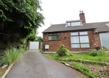 Thumbnail 3 bed semi-detached bungalow to rent in The Downs, Sandy Lane, Prestwich, Manchester