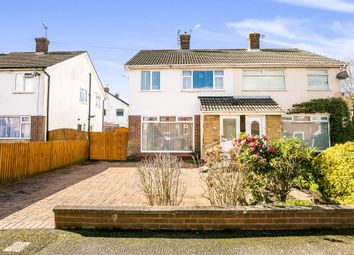 Thumbnail 3 bed semi-detached house for sale in Kentmere Drive, Pensby, Wirral