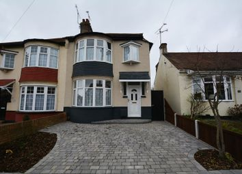 Thumbnail 3 bed semi-detached house to rent in Highfield Grove, Westcliff-On-Sea
