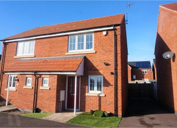 Thumbnail 2 bed semi-detached house for sale in Barr Close, Enderby