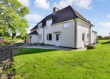 Thumbnail 3 bed semi-detached house for sale in Headcorn Road, Platts Heath, Maidstone, Kent