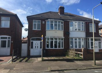 Thumbnail 3 bedroom semi-detached house for sale in Dean Road, Belgrave, Leicester