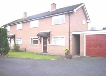 Thumbnail 3 bed semi-detached house to rent in Glenmoor, St Martins Road, Gobowen, Oswestry, Shropshire