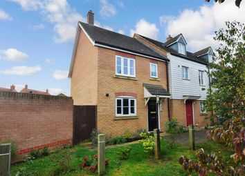 3 bed end terrace house for sale in Cheesemans Green Lane, Ashford, Kent TN25