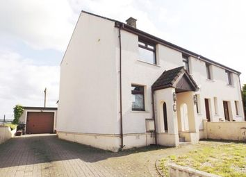Thumbnail 3 bed semi-detached house for sale in Barbieston Avenue, Drongan, Ayr, East Ayrshire
