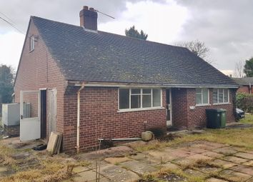 Thumbnail 2 bed detached bungalow for sale in The Bungalow, Holberrow Green, Redditch, Worcestershire