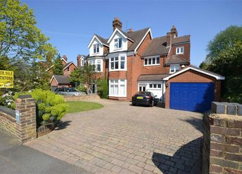 Thumbnail 5 bed semi-detached house for sale in Crescent West, Hadley Wood, Hertforshire