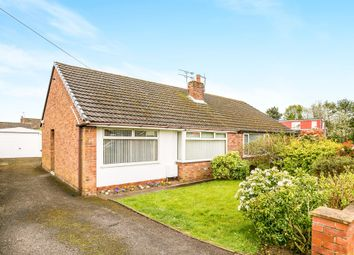 Thumbnail 2 bed semi-detached bungalow for sale in Cedar Avenue, Sutton Weaver, Runcorn