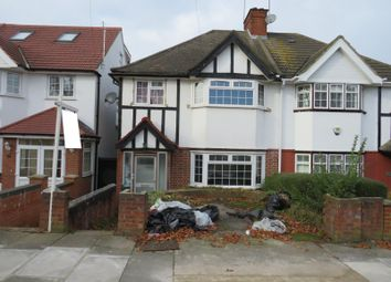 3 bed semi-detached house for sale in St. Michaels Avenue, Wembley, Middlesex HA9