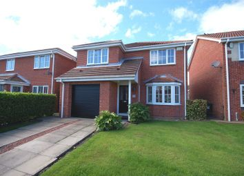 Thumbnail 4 bedroom detached house for sale in Ullswater Drive, Killingworth, Newcastle Upon Tyne