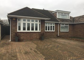 Thumbnail 3 bedroom semi-detached bungalow to rent in Suttons Lane, Hornchurch