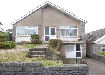 Thumbnail 4 bed detached bungalow for sale in Alma Road, Maesteg