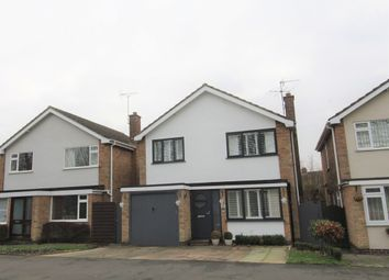 Thumbnail 3 bed detached house for sale in Holly Drive, Lutterworth