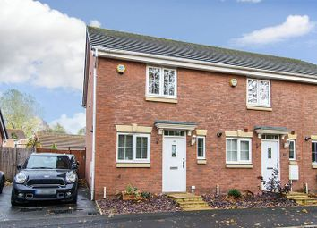 Thumbnail 2 bed semi-detached house for sale in Bramcote Way, Rushall, Walsall
