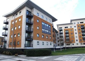 Thumbnail 3 bedroom flat to rent in Fishguard Way, Docklands