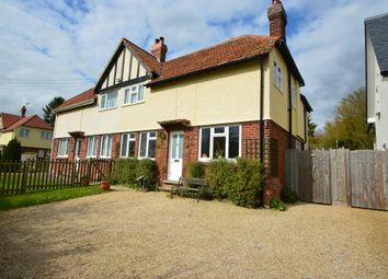Thumbnail 3 bed semi-detached house for sale in Chapel Street, Stoke By Clare, Suffolk