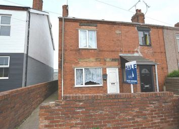 Thumbnail 2 bedroom end terrace house for sale in Chesterfield Road, North Wingfield, Chesterfield, Derbyshire