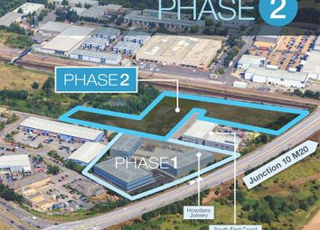 Thumbnail Land to let in Phase 2 Axiom, Orbital Park, Ashford, Kent